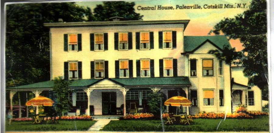 Picture of Central House in the 1930's